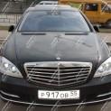 Автомобиль Мерседес S-класса 221 long